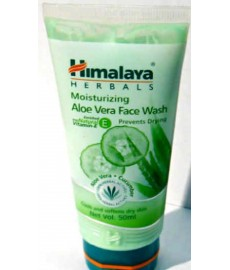 Himalaya Moisturizing Aloe Vera Face Wash 50ml